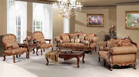 Traditional Living Room Furniture Sets by Madeleine Luxury Living Room Sofa Set
