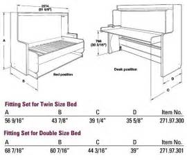 Murphy Bed Desk Mechanism 25 Best Ideas About Murphy Bed With Desk On