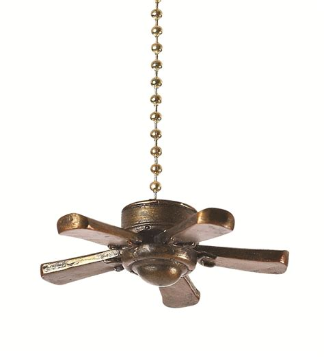 three dimensional ceiling fan decorative fan light pull