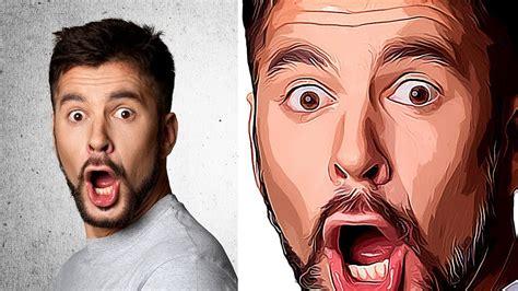 vector art effect  photoshop