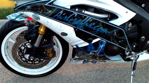 custom painted airgraffix yamaha r6