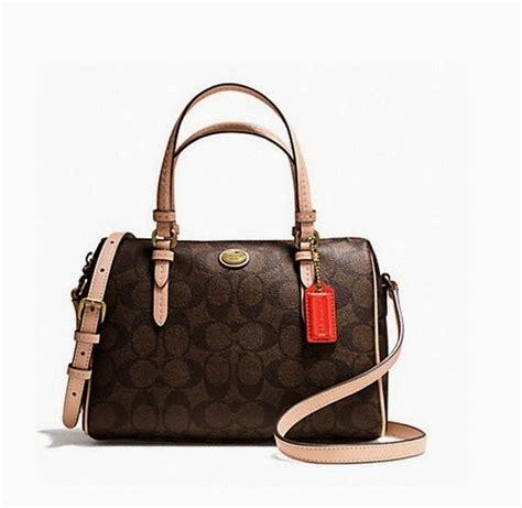 Tas Wanita Coach Bannet Mini Original Authentic 100 branded and beautiful coach peyton signature mini satchel 50178