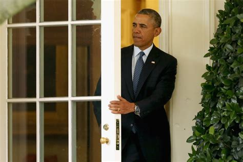 Barack Obama Leaves The White House Zimbio