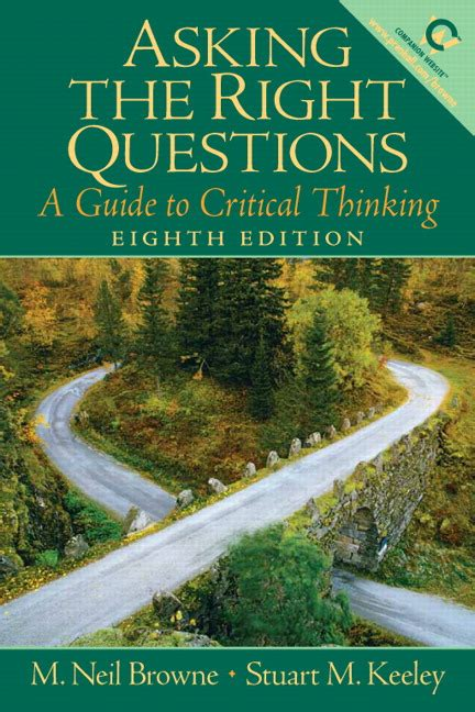 o s guide to the big questions oã s books guides books browne keeley asking the right questions a guide to