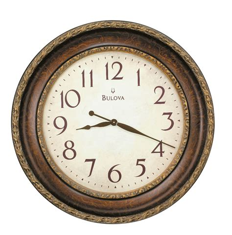 wall clocks world wall clock bulova ravenna