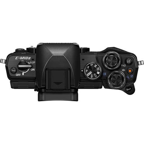 Olympus Om D E M10 Ii Kit 14 42mm Ez Black Kame Berkualitas olympus om d e m10 ii 14 42mm ii r kit black mirrorless cameras photopoint