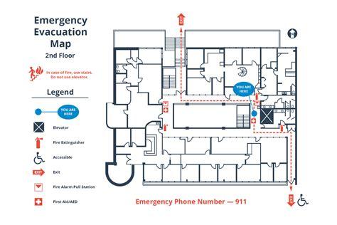 emergency evacuation diagram template how to create a simple building evacuation diagram