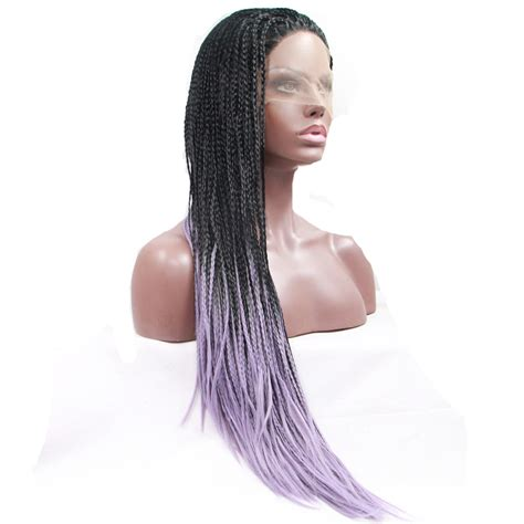 ombre micro braid hair online buy wholesale dreadlocks wig lace front wig from