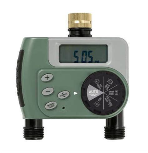 Orbit 2 Port Digital Hose Faucet Timer by Top 8 Best Water Timers Detailed Reviews Comparisons