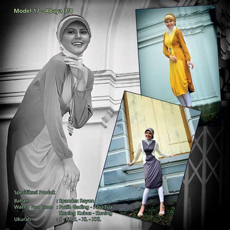 Kaos Hnm Abu Two Tone mazaya busana muslimah 2nd edition mazaya kaos muslimah