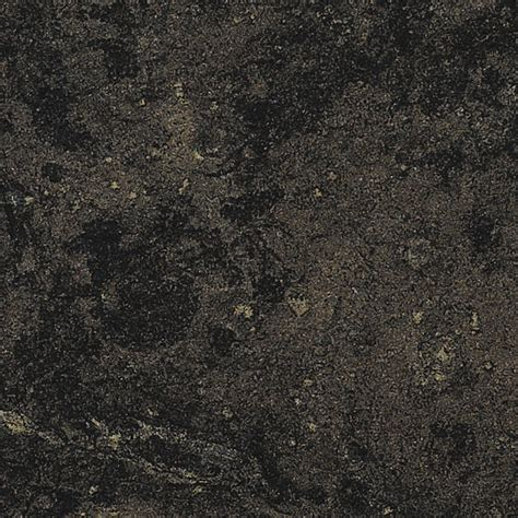 Black Formica Countertop by Shop Formica Brand Laminate Black Fossilstone 180fx Honed