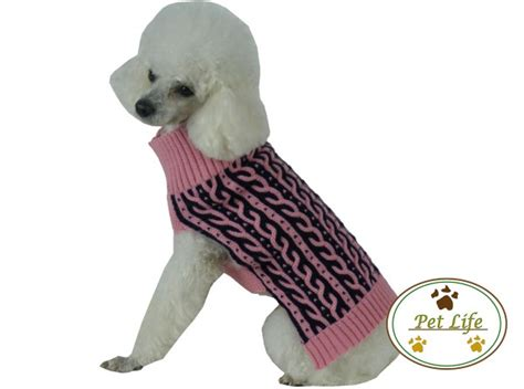 Pink Two Color Sweater Kk406 pink harmonious two color heavy knit sweater coupaw
