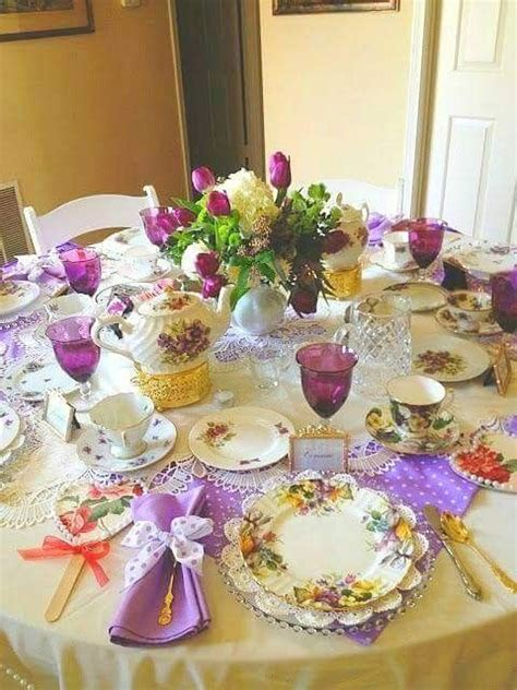 25 best ideas about afternoon tea tables on