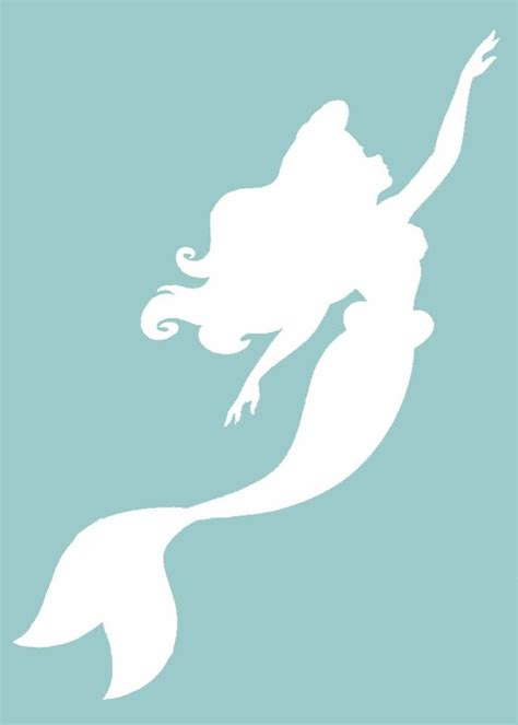 little mermaid silhouette tattoo 1000 ideas about mermaid silhouette on
