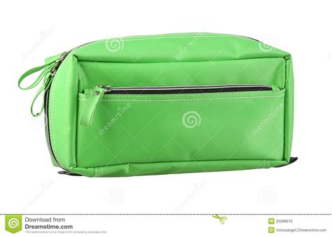 These Terry Cloth Toiletry Bags Make Packing Up The Bathroom by Green Cosmetic Bag Royalty Free Stock Images Image 25286619