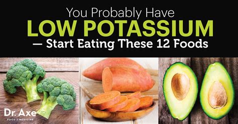 vegetables low in potassium 12 foods to overcome low potassium dr axe