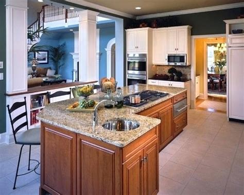center island with stove top stove island kitchen april piluso me