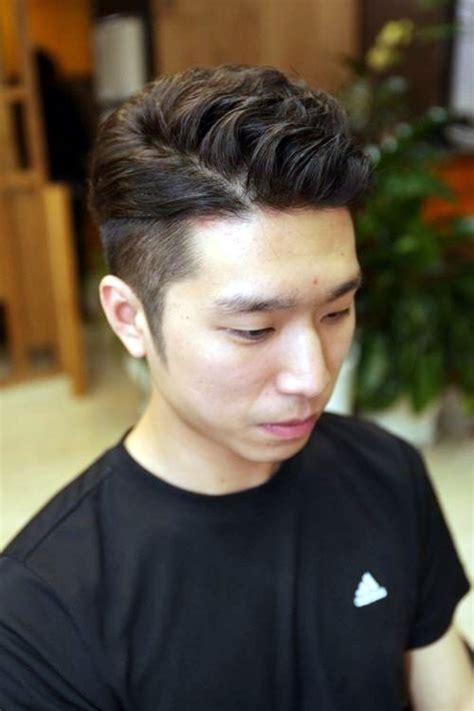 hairstyles for men with a model block 2 block haircut korean haircuts models ideas