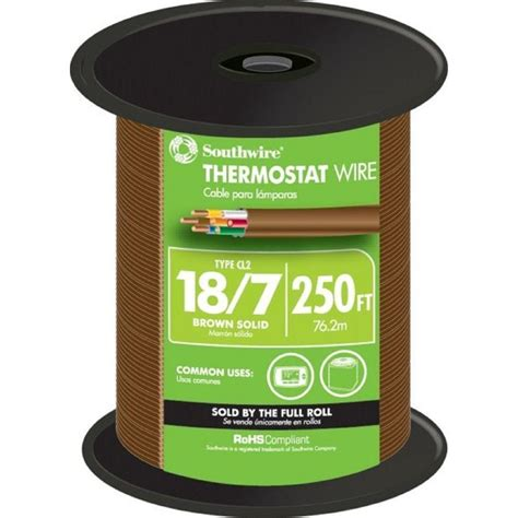 18 7 thermostat wire home depot