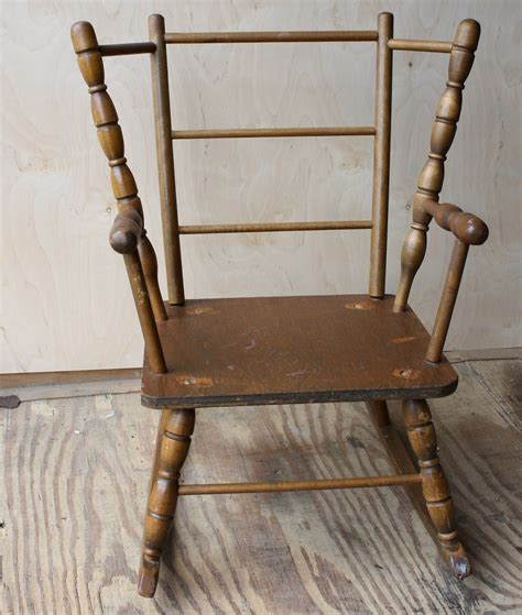 Small Rocking Chair by I C Church Auction 2011 Small Rocking Chair