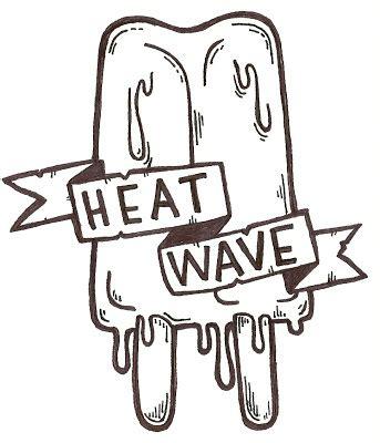 Raket Flypower Heat Wave 8 yo sick zine heat wave