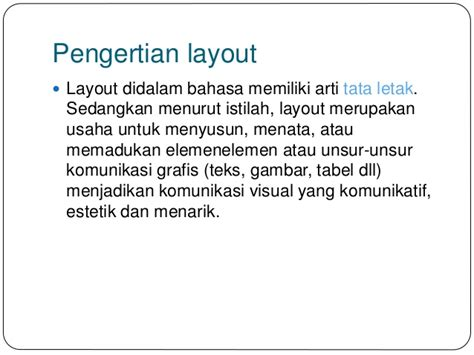 pengertian layout pada blender tata letak layout laboratorium