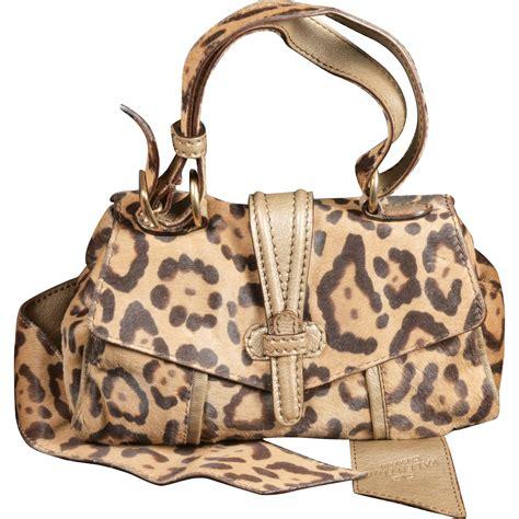 Valentino Animal Print Handbag by Valentino Caravan Leopard Print Pony Purse Handbag And