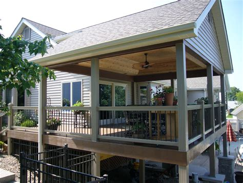 covered deck ideas outdoor covered deck ideas home design ideas