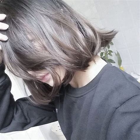 best haircusts for grey and brow hair dark ash grey hair google zoeken pinteres