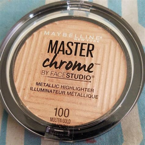 Maybelline Master Chrome maybelline master chrome by studio metallic