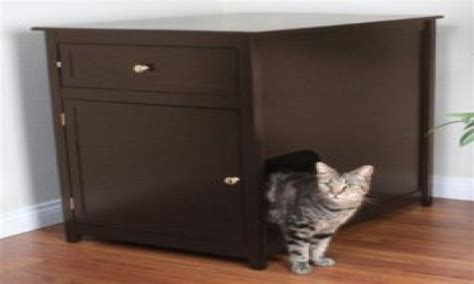 Box Furniture by Cat Litter Cabinet Enclosed Litter Box Furniture Covered