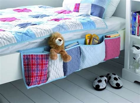 Hanging Bedside Organizer diy hanging bedside organizer