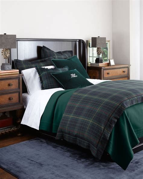 ralph lauren plaid bedding ralph lauren duke bedding shopstyle