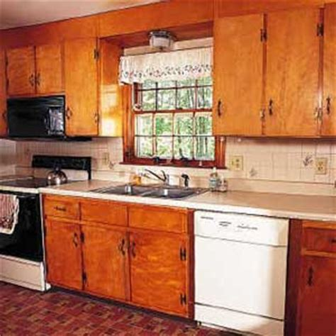 old wooden kitchen cabinets before after kitchen domestic engineer com
