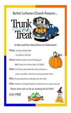 trunk or treat flyer template 1000 images about trunk of treats on trunk or treat ring toss and flyers
