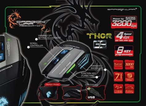 Mouse Gaming Dragonwar Thor 7 Best Gaming Mouse For All Budgets To Buy In 2016 Candytech