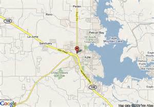 where is azle on the map map of econo lodge azle azle