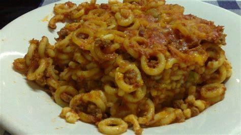 cucina siciliana ricetta anelletti al forno tipica della cucina siciliana
