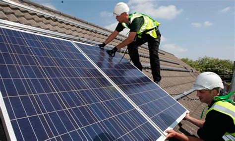solar panels install surge in solar panel installations on uk household roofs