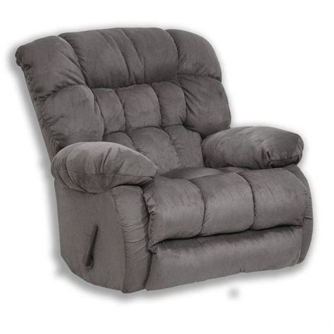 Oversize Recliner by Catnapper Teddy Oversized Rocker Recliner Chair In Graphite 45172222028