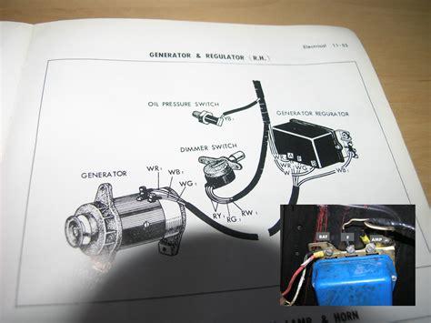 generator voltage regulator wiring question