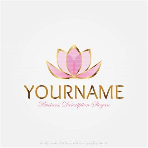 online tattoo logo maker make lotus flower logo online with our free logo design