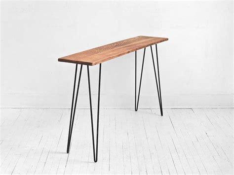 barn wood side table modern reclaimed wood side table mid century modern hairpin