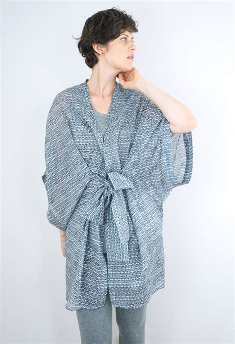 sewing pattern kimono dressing gown diy kimono robe pattern almada robe by seamwork magazine