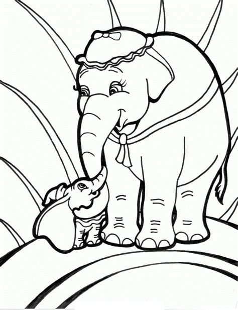 elmer elephant coloring page free elmer the elephant coloring pages
