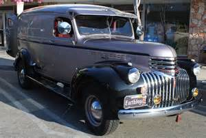 clean 1946 chevy panel truck fantastic looking