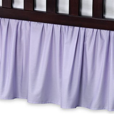 Buy Buy Baby Crib Skirt Crib Skirts Gt T L Care Cotton Percale Crib Bed Skirt In Lavender From Buy Buy Baby