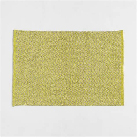 chevron yellow rug mini chevron jute rug sun yellow west elm