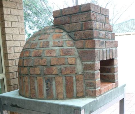 Image Gallery Homemade Brick Oven Plans Backyard Brick Oven Plans