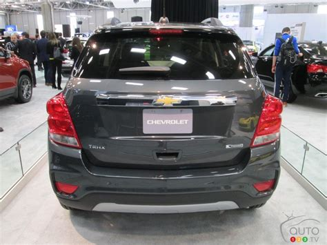New Chevrolet Trax 2017 2017 chevy trax debuts in canada at city auto show